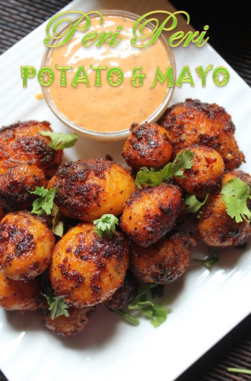 YUMMY TUMMY: Peri Peri Potatoes with Peri Peri Mayonnaise Recipe