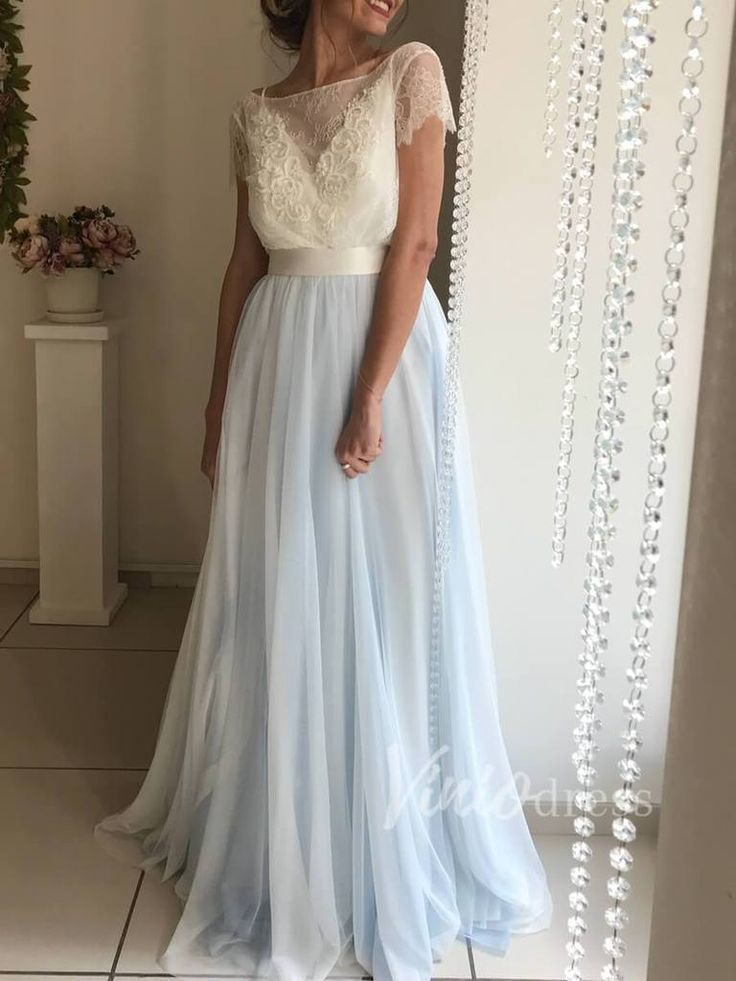 23++ Sky blue wedding dress for cheap ideas