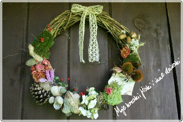 autumn, natural wreath