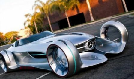 Mercedes-Benz Silver Lightning Concept Car.