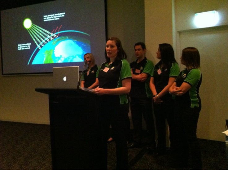 Team Fusion presenting at the 2012 #LGMA Management Australasian Final - The team from the City of Salisbury came second in Melbourne in June 2012. Well done team!!