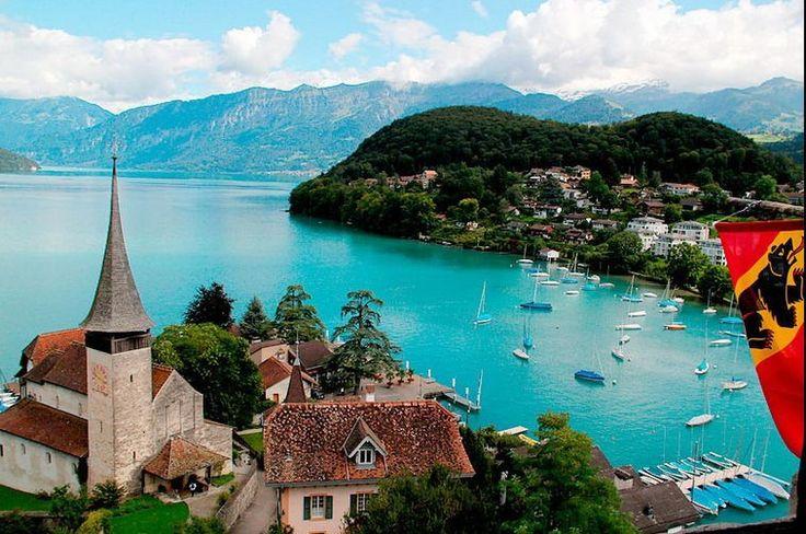 Spiez Switzerland  city photos : Spiez, Switzerland | Dream Locales | Pinterest