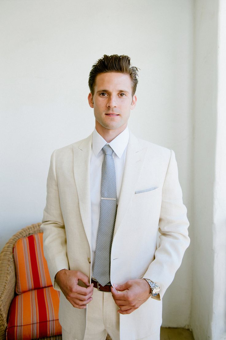 White Groom Suits 2013