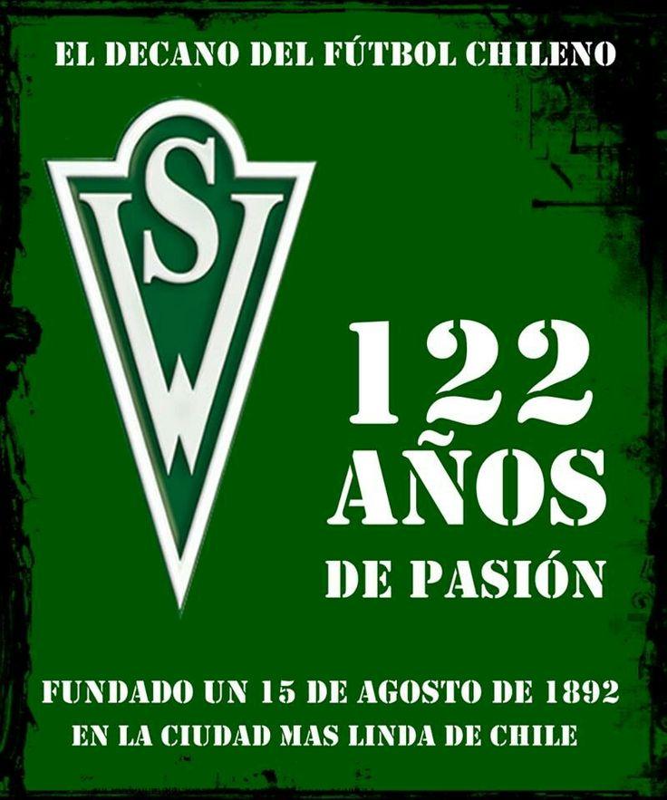 A UN MES DE LOS 122 AÑOS DEL DECANO! !! #WANDERERS CUMPLIRÁ UN AÑO MAS ESTE PROXIMO 15 DE AGOSTO