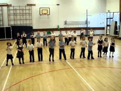 I could die! Sooo cute! Everybody Walk The Dinosaur Dance.MPG