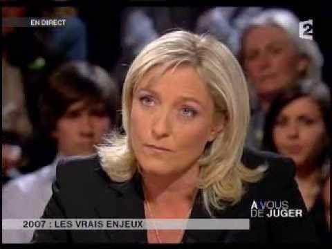 A vous de juger, Grand débat avec Marine Le Pen, François Fillon, Franço...
