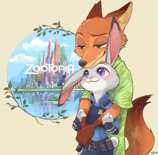 #Zootopia #Nick #Judy #Art