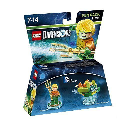 Figurine Lego: Figurine LEGO Dimensions compatible multi-plateformes. Alors qu'un mystérieux et puissant vortex apparaît dans plusieurs…