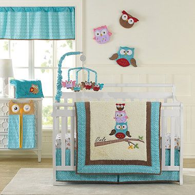 New Country Home Spotty Owls Crib Bedding Collection - buybuyBaby.com