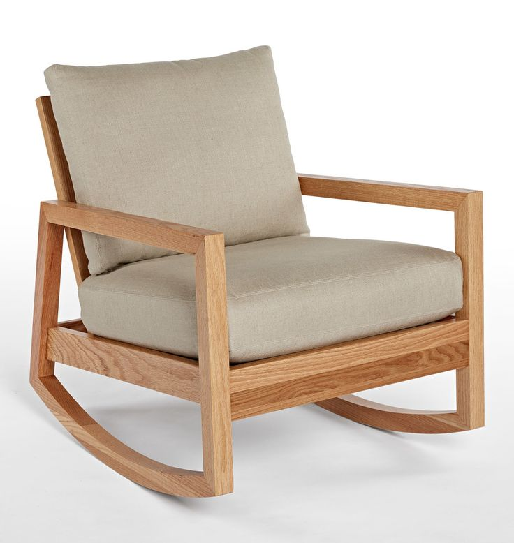 Lloyd Wood Rocking Chair