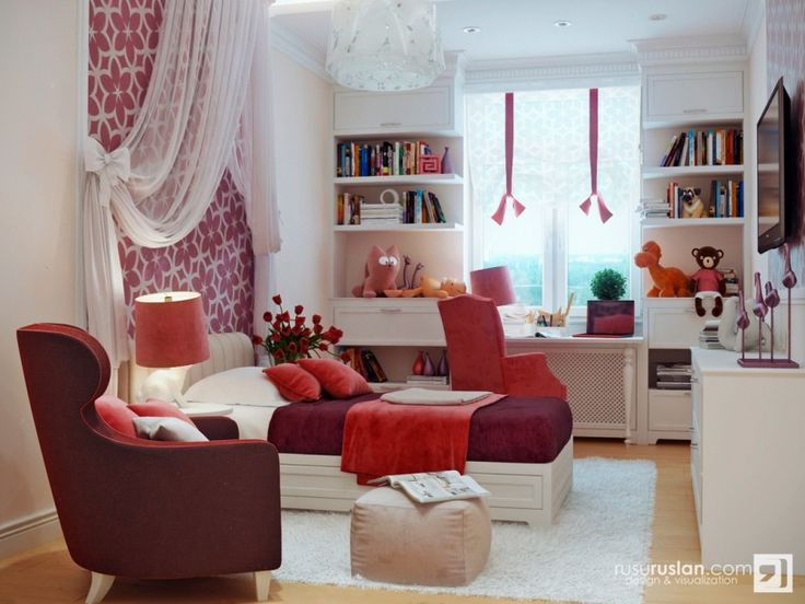 Red White Bedroom Decor Of Fun And Colorful Kids Rooms Idea From Kids Room  Designs Part 50