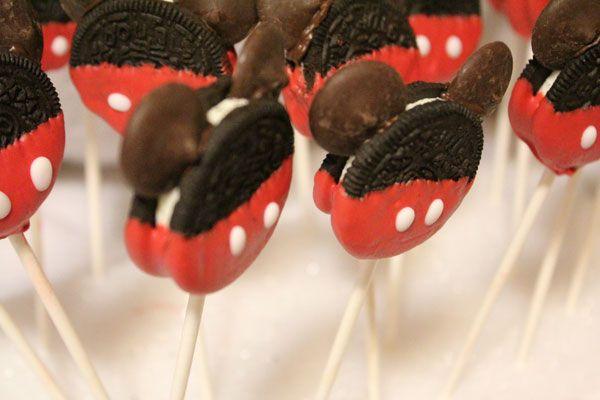 Galletas Oreo Mickey Mouse | Recetas para bebés y niños. Meriendas infantiles, desayunos, postres...