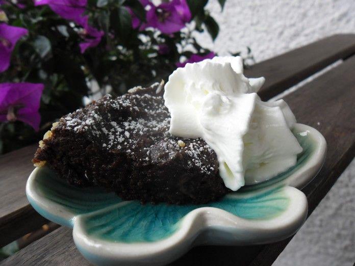 Choklad banan kaka