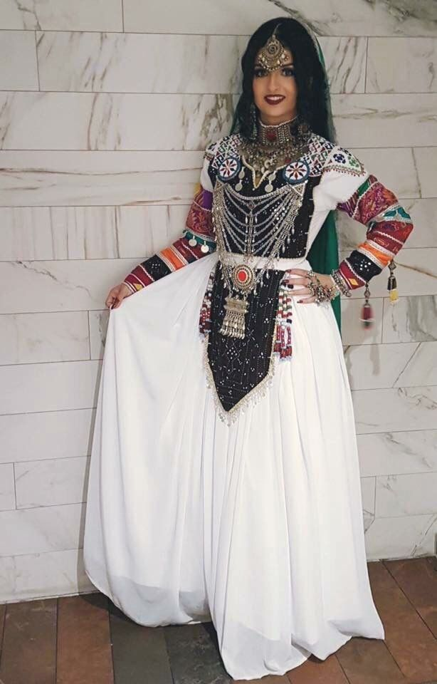 #afghani #style #dress #jewelry