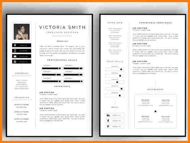 2 Page Resume Templates Resume Resumetemplates Templates