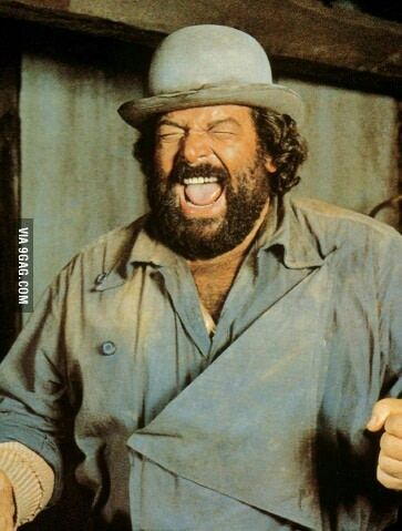 Bud Spencer: one punch man