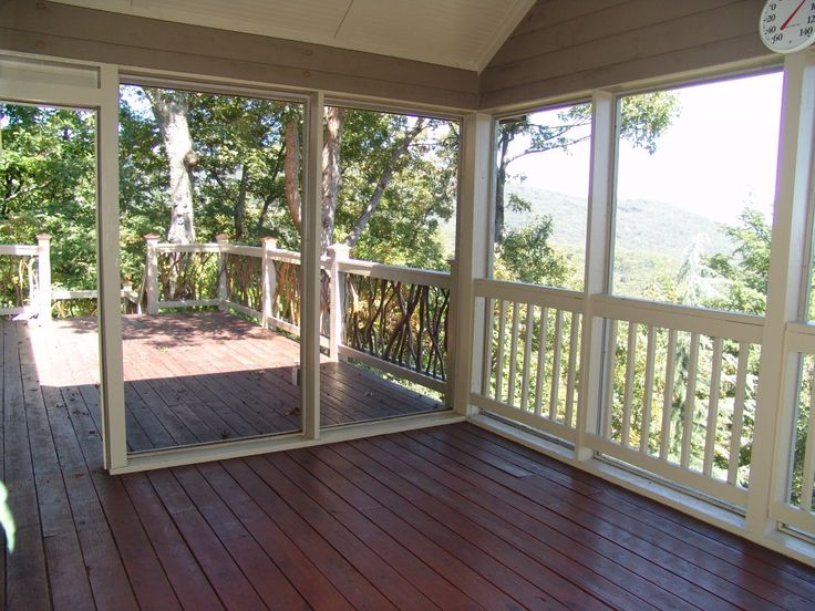 Screened Porch to Open Deck