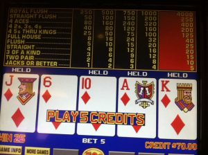 Cheating at Video Poker would have made this a Royal http://gamboool.com/video-poker-cheating-crew-the-story-of-the-guys-who-found-a-seemingly-legal-strategy-to-guarantee-wins-at-video-poker-machines
