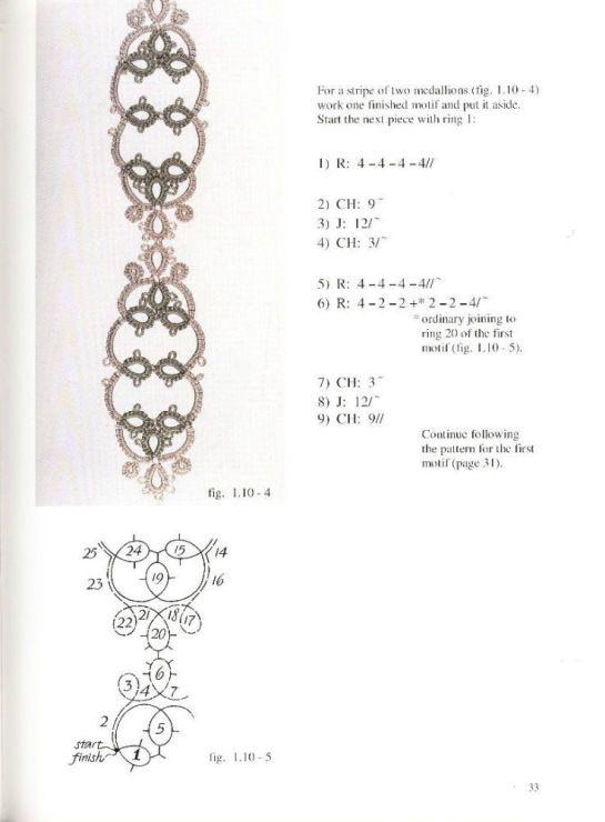 Gallery.ru / Фото #21 - Beanile lace frywolka i koraliki Nina Libin - mula