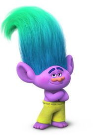 Creek is the secondary antagonist in Trolls. He is voiced by Russell Brand. Creek is the most positive, supportive, reassuring Troll in all of Troll Village, approaching everything with Zen like wisdom. He's calm, collected and capable. But being beloved by everyone sometimes has its drawbacks, and literally lands Creek in hot water.