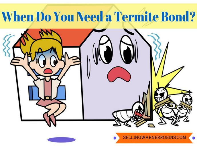 When Do You Need A Termite Bond