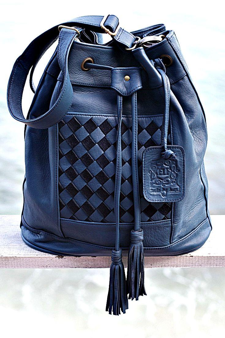 That handmade Stone Blue convertible Neverland backpack