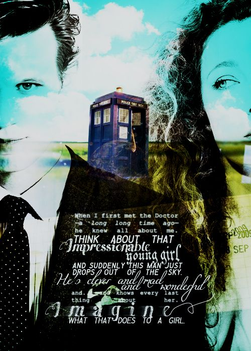 River and the Doctor <3 imagine what that does to a girl.