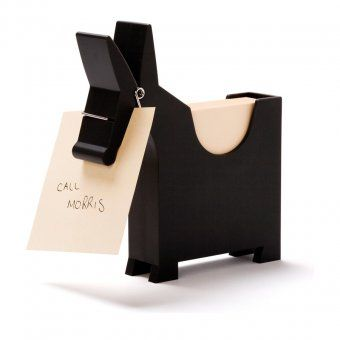 Monkey Business Memo Holder Morris black | design3000.com