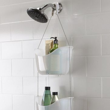 Umbra Bask Shower Caddy contemporary shower caddies  #Luxury #Spa #Robe #Plush #pamper #bath #towels