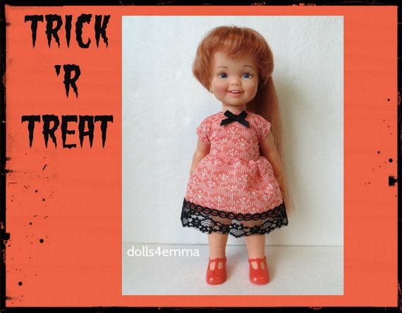 Vintage Ideal CINNAMON Doll CLOTHES  Halloween by DOLLS4EMMA