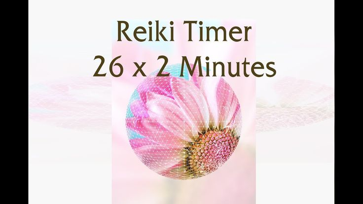 """Reiki Timer 2 Min - """"Divine Love"""" Reiki Music with Bells Every 2 Minutes..."""