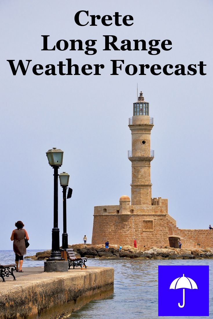 #Crete Long Range #Weather Forecast.  30 days and beyond.  Plan your #Vacation #Travel, #Honeymoon #Wedding #Holiday now.