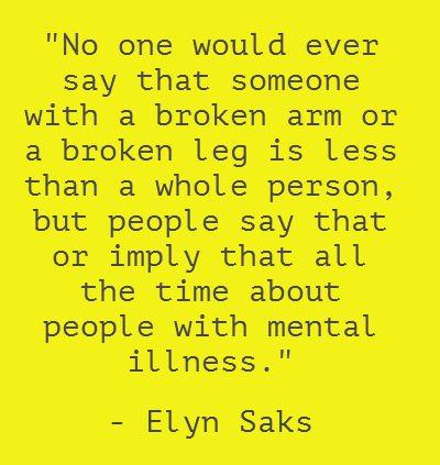 elyn saks fighting the greatest battle Elyn saks is an associate dean and professor of.