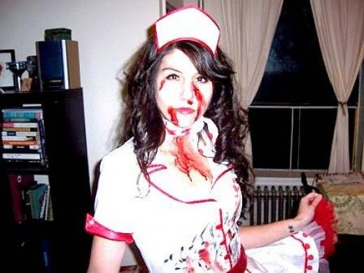 Scary Homemade Halloween Costumes | Homemade Scary, Horror Halloween Costumes