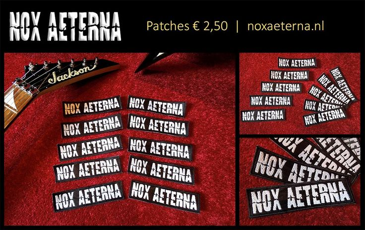 Get your Nox Aeterna patch @ www.noxaeterna.nl