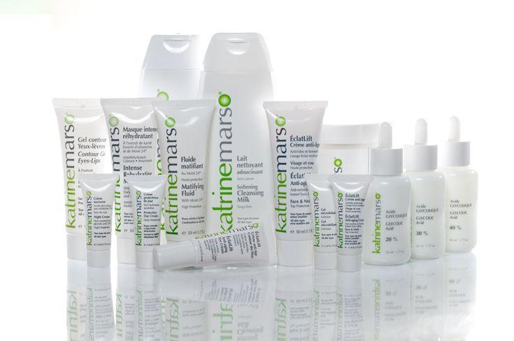 La gamme de produits Katrine Marso: des soins uniques! The product range Katrine Marso: Unique Care