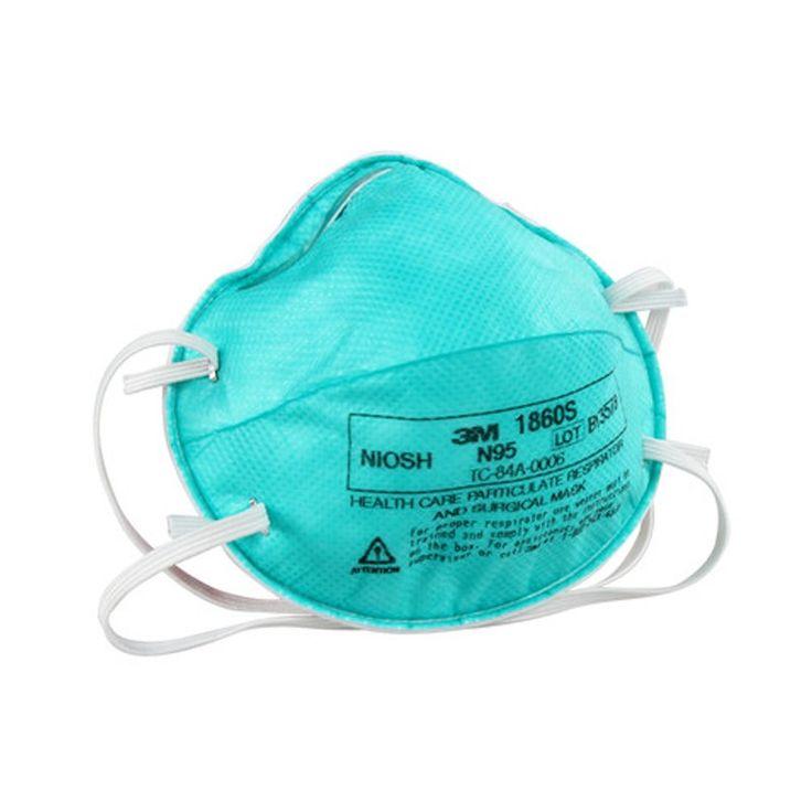 3M Masker Bedah Medis N95 Medical Respirator 1860S Small - 120 EA/Case.  - NIOSH Disetujui: N95 - FDA dibersihkan untuk digunakan sebagai masker bedah - Membantu melindungi dari partikel-partikel biologis udara tertentu - Tahan cairan dan sekali pakai - Price per 120 each/case.  http://tigaem.com/respirator-masker/2016-3m-masker-bedah-medis-n95-medical-respirator-1860s-small-120-eacase.html  #maskerbedah #maskermedis #3M