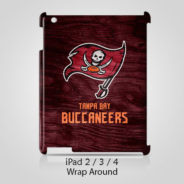 Tampa Bay Buccaneers Custom iPad 2 3 4 Case Cover Wrap Around