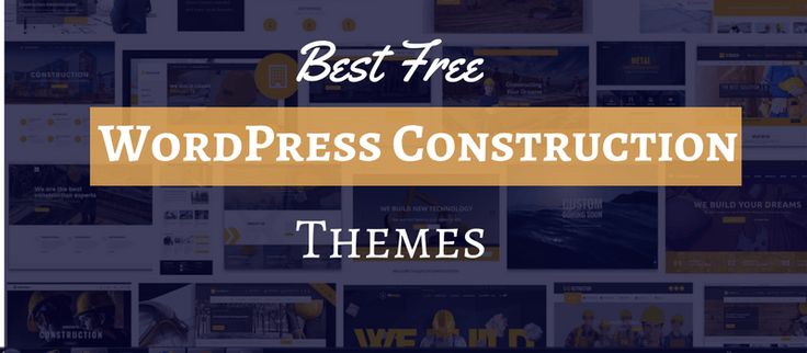 25 best Free construction WordPress Themes images on Pinterest ...