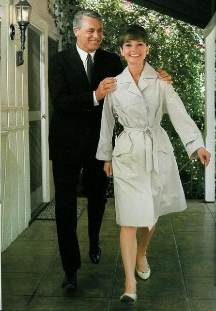 Cary Grant & Audrey Hepburn Classic Trench is a fashion icon and staple in every fashionable persons wardrobe.