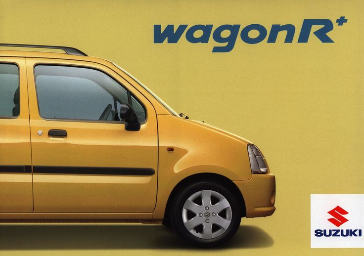 https://flic.kr/p/F2aov9 | Suzuki Wagon R+  2006 | front cover car brochure | by worldtravellib World Travel library - The Collection
