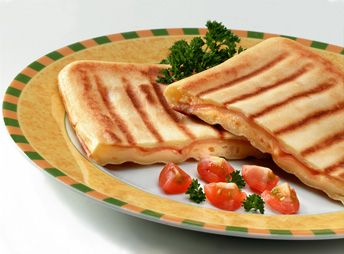 Receta para Sandwichera - Waffles rellenos