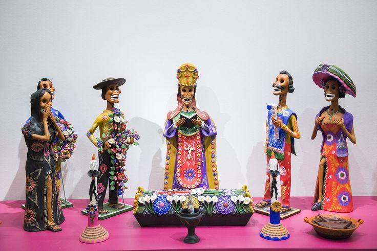 Artesanía en papel en la exposición: Grandes Maestros del Arte Popular de Iberoamérica, hasta el 27 de septiembre en Centro Cultural La Moneda.
