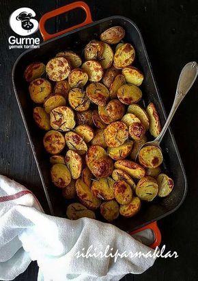 Fırında Bebek Patates - Pratik Yemek Tarifleri. Gurme resimli kolay pratik Fırında Bebek Patates nasıl yapılır yapılışı yapımı hazırlanışı