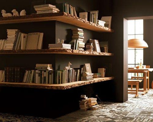 die besten 25 eck b cherregal ideen auf pinterest. Black Bedroom Furniture Sets. Home Design Ideas