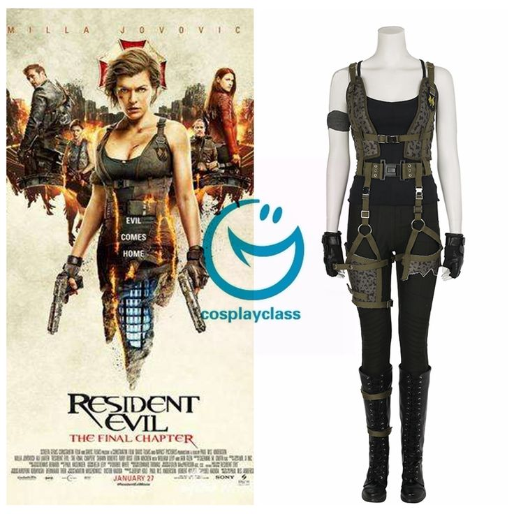 Resident Evil: The Final Chapter Alice Cosplay Costume(Luxury version)  #residentevilTheFinalChapter #cosplay #alice #costume