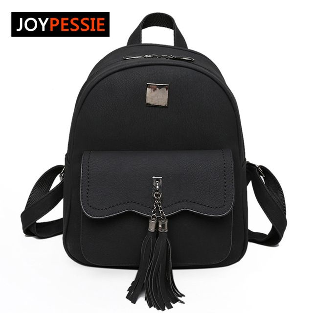Special offer Joypessie Tassel Brands Winter women PU School bag Travel Leather Backpacks For Teenage Girls vintage feminine Women Backpacks just only $18.75 with free shipping worldwide  #womanbackpacks Plese click on picture to see our special price for you