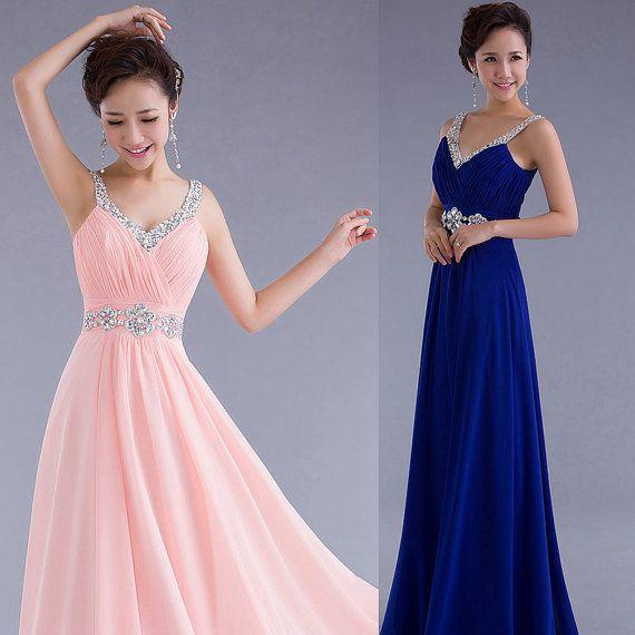 Modest Prom Dresses 2014 Prom Dresses Cheap Evening by FoxWedding, $129.00