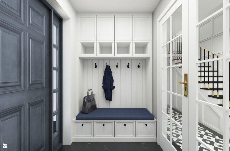 Znalezione obrazy dla zapytania zabudowa szafy w stylu prowansalskim