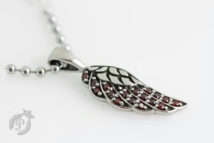 Angel wing pendant by PSJ